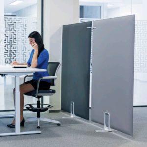 Raumtrenner im Büro